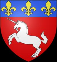 Blason de saint l wikimanche for Piscine saint lo