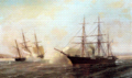 Durand-Brager- Battle of the USS Kearsarge and the CSS Alabama 1864.gif